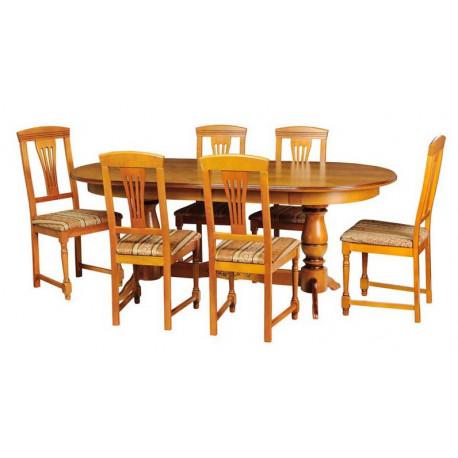 Обеденная группа Викинг-4М ВМФ-6222.1 + стулья Рубин