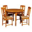 Обеденная группа Тенденция ВМФ-5051 + стулья Рубин