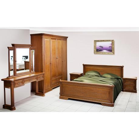 Спальня Гермиона в цвете орех