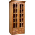 Шкаф с витриной Элбург БМ-0440 (для книг)