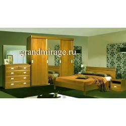 Спальня Валенсия (цвет – натуральный дуб)