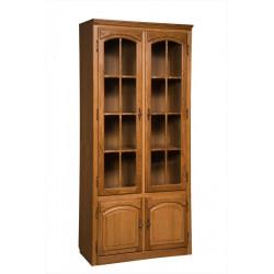 Шкаф БМ-1747 с витриной