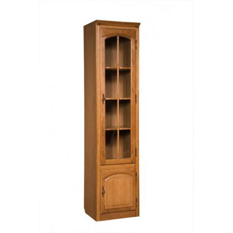 Шкаф с витриной Элбург БМ-1757
