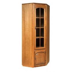 Шкаф с витриной угловой БМ-1773