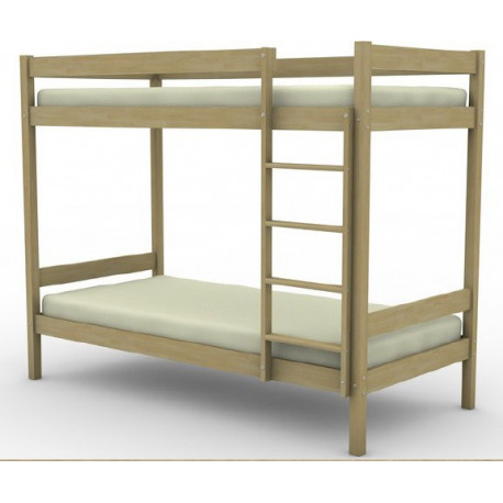 Кровать двухъярусная березовая арт. 15