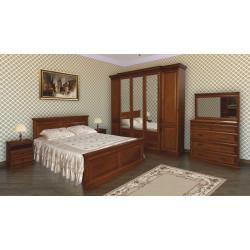 Спальня Олимпия с 5-дверным шкафом