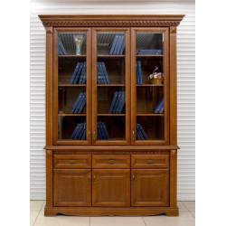 Шкаф для книг Афина 3-дверный высокий И010.15