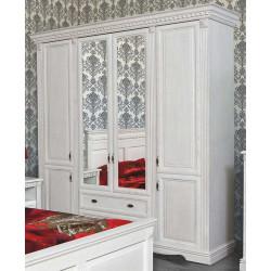 Шкаф 4-дверный Афина И010.01 в эмали