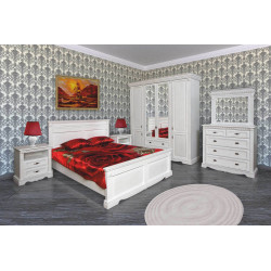 Спальня Афина (вариант 2) в эмали
