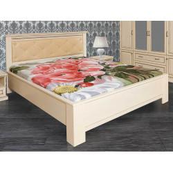 Кровать Нинель с мягким изголовьем 1600*2000 без изножья И004.16 в эмали