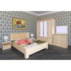Спальня Нинель (вариант 1) в эмали