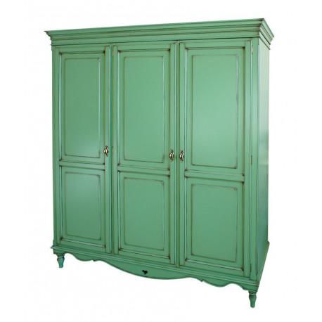 Шкаф 3-дверный Капри в эмали