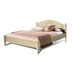 Кровать двойная Фиерта 4-02.1 (160 на 200) с низким изножьем