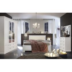 Спальня Нинель (вариант 2) в эмали