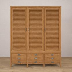 Шкаф 3-створчатый Wad3