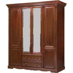Шкаф 4-дверный Афина И010.01
