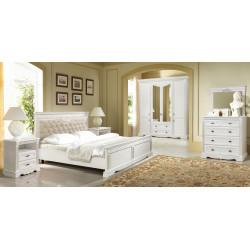 Спальня Афина с декором (вариант 3) в эмали