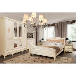 Спальня Оскар с декором в эмали