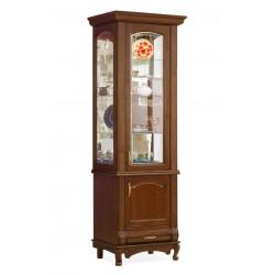 Шкаф с витриной 1-дверный Оскар И007.20