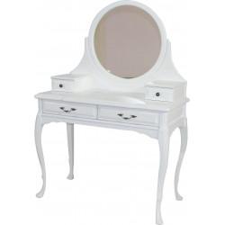 Стол туалетный с ящиками и зеркалом Бристоль-5