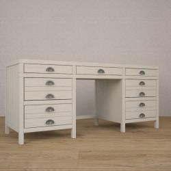 Стол письменный с ящиками TblBoxes в белом цвете