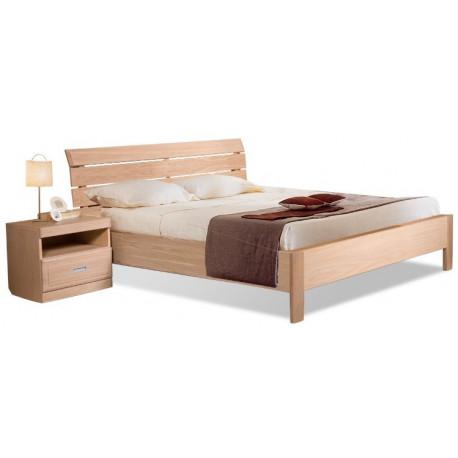 Кровать двойная БМ-1601 с заглушкой