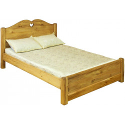 Кровать LCOEUR 200 PB (200 х 200) с низким изножьем