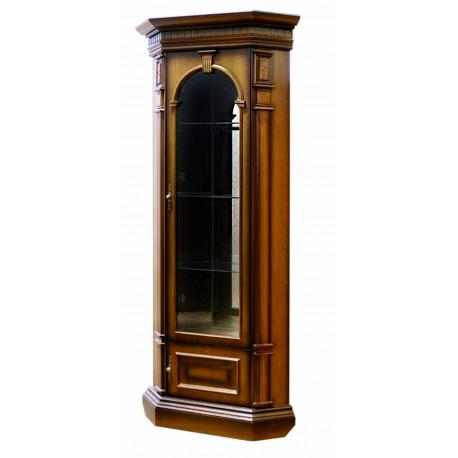 Шкаф витрина угловой Верона 28М