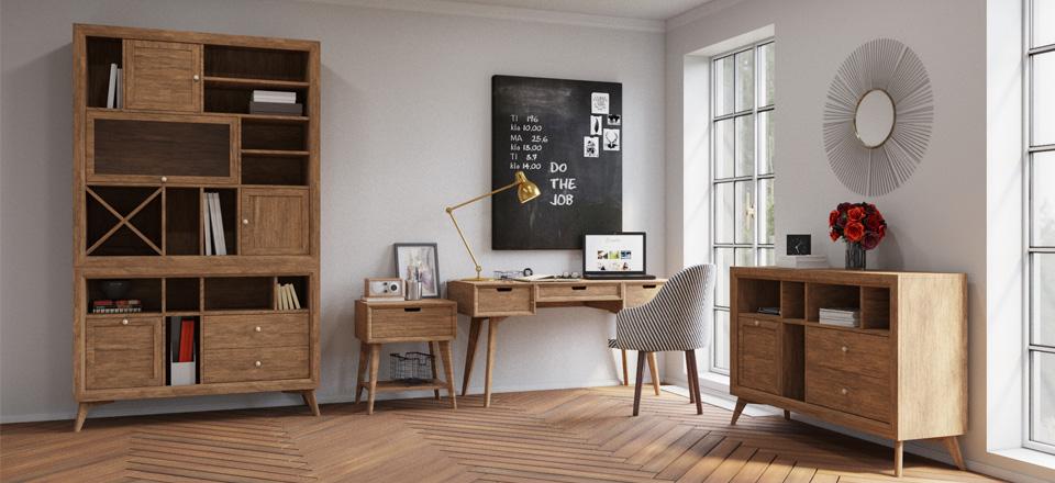 кабинет в стиле Авангард